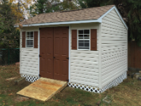 Cape May shed - 12x12